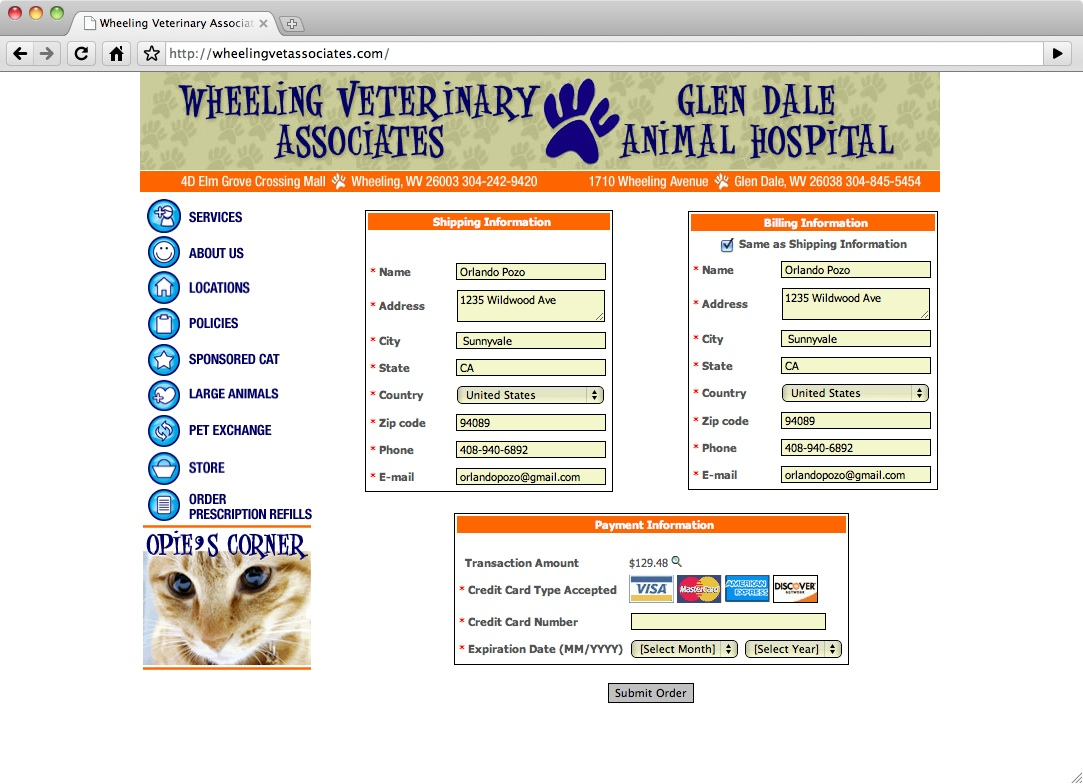 Wheeling Veterinary